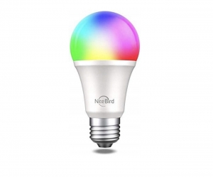 Smart Żarówka LED WiFi Google RGB 800lm E27 TUYA