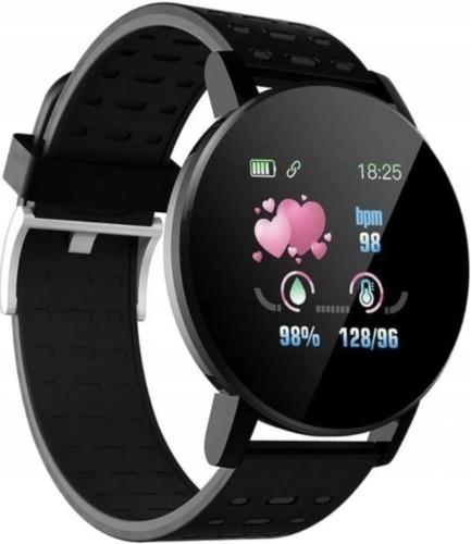 Zegarek Smartwatch M119 PLUS Opaska sportowa Smart Band (czarny)