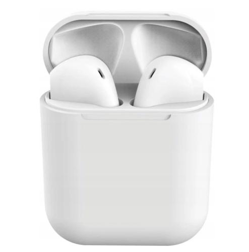 Słuchawki bezprzewodowe douszne inPods 12 TWS bluetooth (białe)